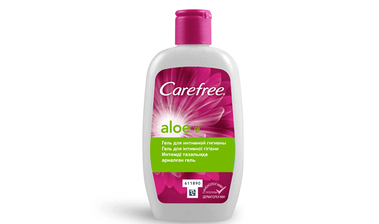 Гель для интимной гигиены Carefree® с алоэ